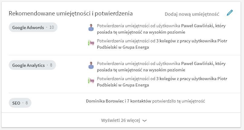 linkedin-rekomendacje